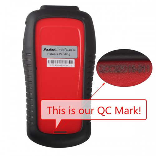 Original Autel AutoLink AL619EU ABS/SRS OBDII CAN Diagnostic Tool (Support Citroen/Peugeot) Free Shipping by DHL