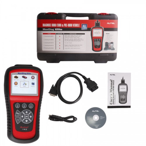 Autel MaxiDiag Elite MD802 Full System with Data Stream (Including MD701,MD702,MD703 and MD704) Diagnostic Tool