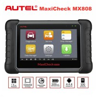 [Special Offer] Original Autel MaxiCheck MX808 Full System Diagnostic & Service Tablet Scan Tool Same As MaxiCOM MK808 Update Online