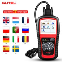 [Ship from UK] Original Autel AutoLink AL519 V8.02 OBDII EOBD & CAN Scan Tool Free Online Update