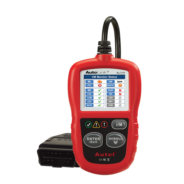 [Free Shipping] Autel AutoLink AL319 OBDII & CAN Code Reader