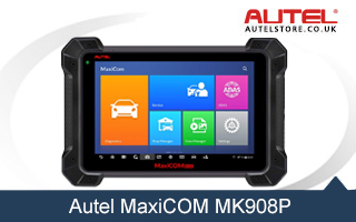 【Anniversary Sale £1839】【Multi-Language】Autel MaxiCOM MK908P Full System Diagnostic Tool with J2534 Box Support ECU Coding and Programming