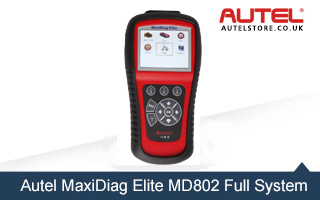 [Special Offer] Autel MaxiDiag Elite MD802 Full System with Data Stream (Including MD701,MD702,MD703 and MD704) Diagnostic Tool
