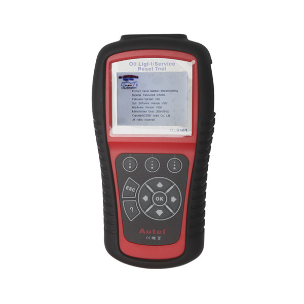 Autel MaxiService OLS301 Oil Light and Service Reset Tool Update Online 100% OBDII/EOBD coverage