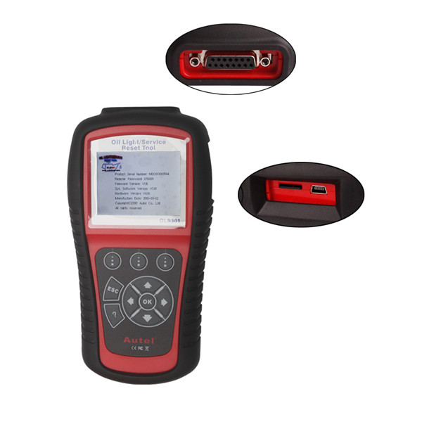 Autel MaxiService OLS301 Oil Light and Service Reset Tool Update Online