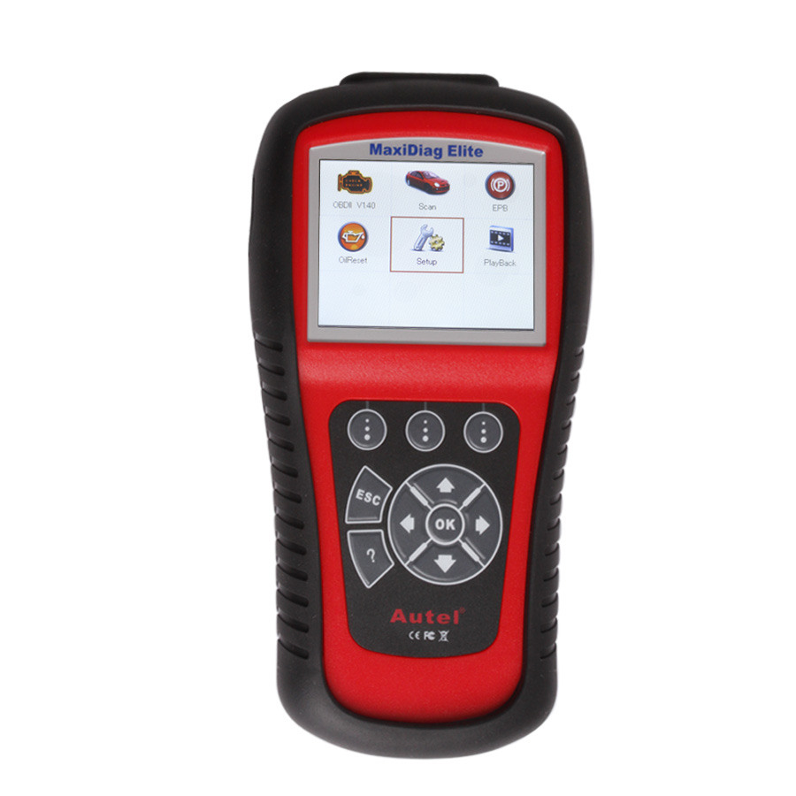 [Ship from UK] Autel MaxiDiag Elite MD802 Full System with Data Stream Diagnostic Tool