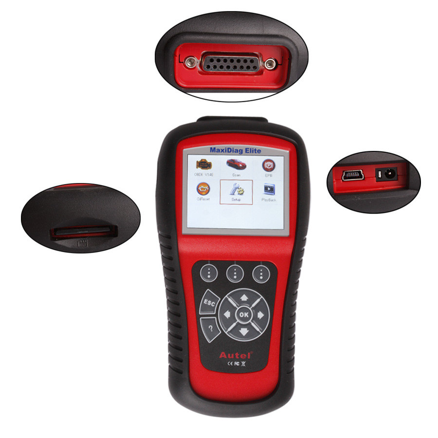 【Ship from UK】Autel MaxiDiag Elite MD802 Full System with Data Stream (Including MD701,MD702,MD703 and MD704) Diagnostic Tool