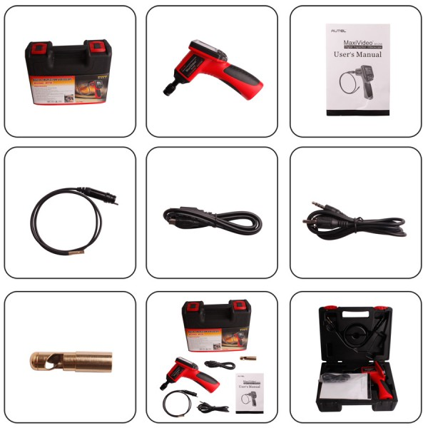 autel maxivideo mv208 package