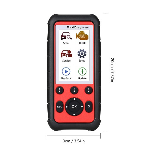 [Ship from UK] Autel MaxiDiag MD808 Pro All System Scanner Support BMS/ Oil Reset/ SRS/ EPB/ DPF/ SAS/ ABS Lifetime Free Update