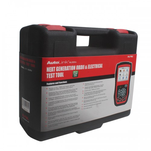 Original Autel AutoLink AL539B OBDII Code Reader & Battery Test Tool Free Shipping by DHL