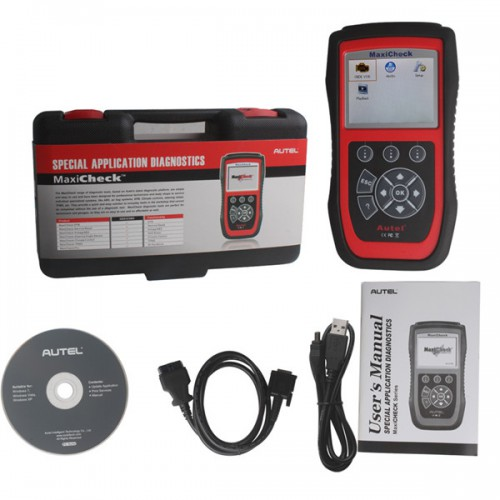 [Free Shipping] Autel MaxiCheck Airbag/ABS SRS Light Service Reset Tool Free Shipping by DHL