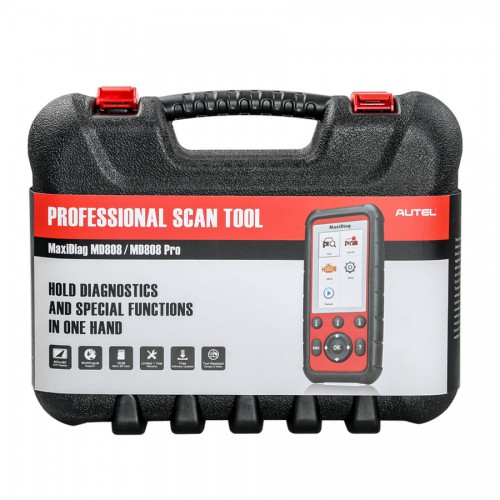 Autel MaxiDiag MD808 Diagnostic Tool for Engine/ Transmission/ SRS and ABS Systems with EPB/ Oil Reset/ DPF/ SAS and BMS