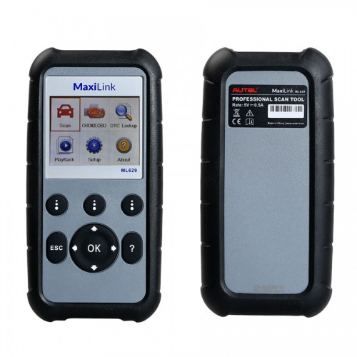 [Ship from UK] Autel MaxiLink ML629 ABS Airbag Code Reader Check Engine Transmission Codes Upgrade Version of ML619 AL619