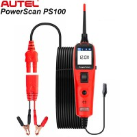 [Ship from UK] Autel PowerScan PS100 Electrical System Diagnosis Tool PowerScan PS100 Auto Circuit Battery Tester Easy to Read AVOmeter