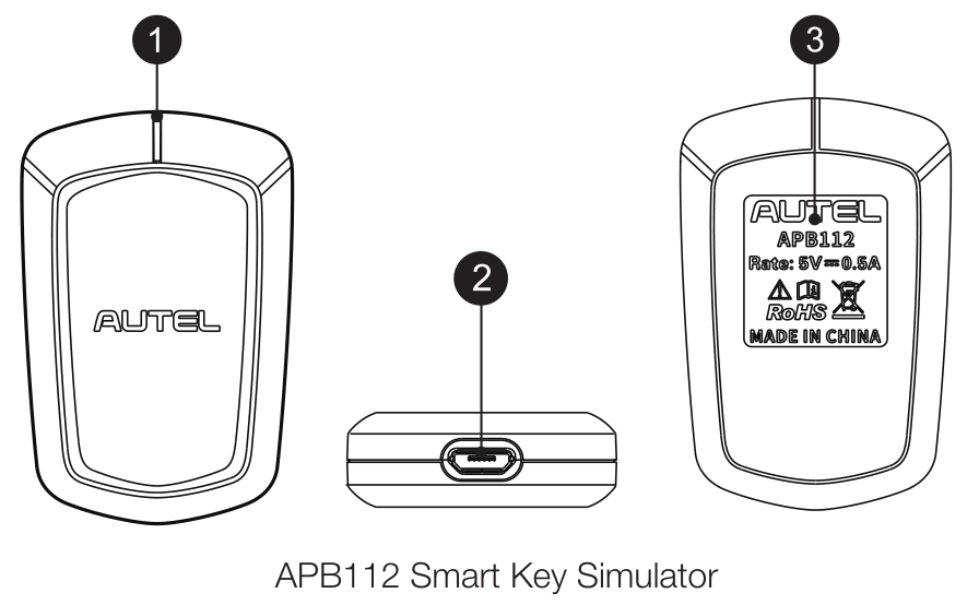 APB112 Smart Key Simulator