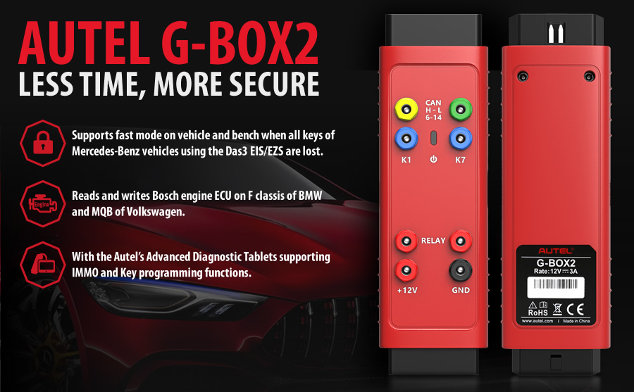 Buy Autel MaxiIM IM608 Key Programmer Get Autel APB112 and G-BOX2