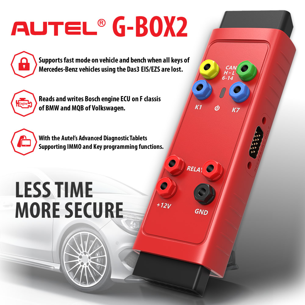 Buy Autel MaxiIM IM608 Get Free Autel G-BOX2 Adapter