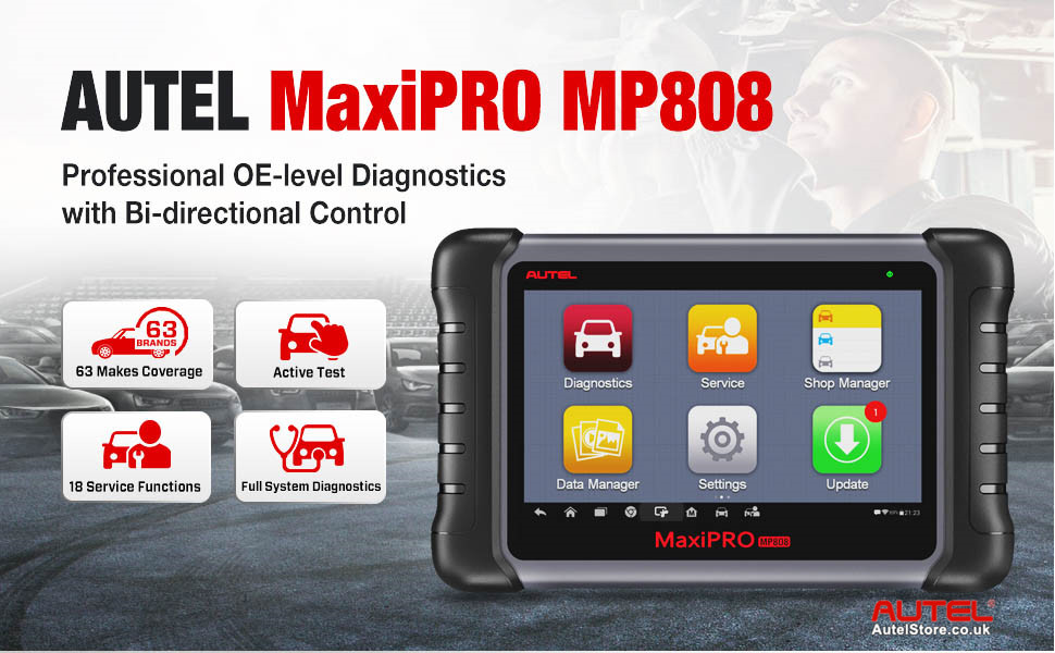 Autel MaxiPRO MP808