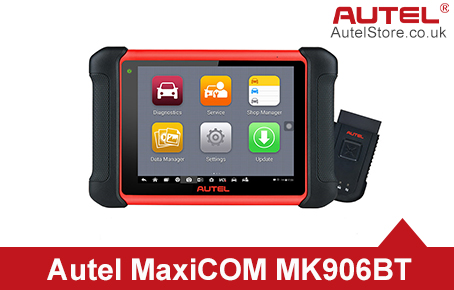 [Ship from UK] Original Autel MaxiCOM MK906BT Full System Diagnostic Tool Support ECU Coding/ Injector Coding Upgrade Version of MS906BT